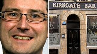 John Stewart [Pic: Aberdeen City Council] and Kirkgate Bar