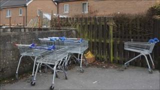 Abandoned trolleys generic