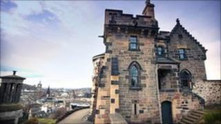 Old Observatory House on Calton Hill
