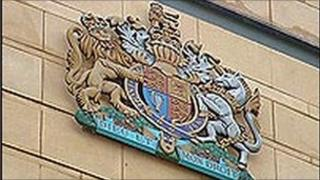 Laganside Courts crest