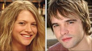 Jamie Baldwin (Rupert Hill) and Violet Wilson (Jenny Platt)
