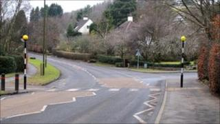 Crossing in Strathblane
