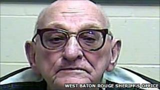 Francis Tullier, in a booking photo provided by the West Baton Route Parish Sheriff's office