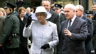 The Queen in Omagh