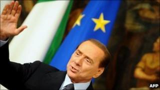 Italian PM Silvio Berlusconi, March 2