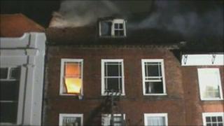 Chichester fire
