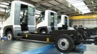 Modec vehicles in production