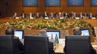 Opening session of the G20 summit in Paris