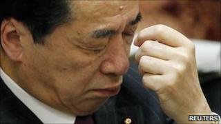 Prime Minister Naoto Kan