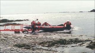 St John Ambulance and Rescue Service's inshore lifeboat