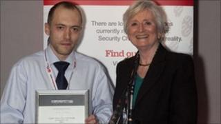 Dan Summers and Dame Pauline Neville-Jones, Cyber Security Challenge