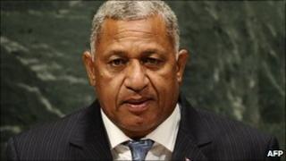 Commodore Frank Bainimarama (September 2010)