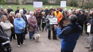 Broadstairs park protest