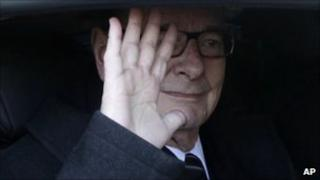 French former President Jacques Chirac (7 March 2011)
