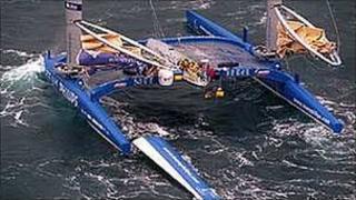 The Team Philip catamaran
