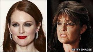 Julianne Moore and Sarah Palin