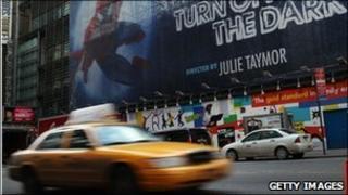 Spider-Man: Turn Off the Dark advertisement
