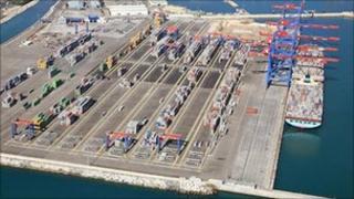 Malaga container terminal