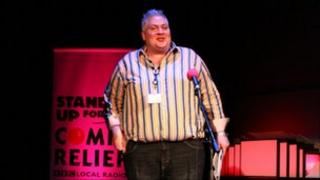 BBC Leicester's Jonathan Lampon to do stand up for Comic Relief