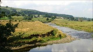 River Ure near Worton Bridge