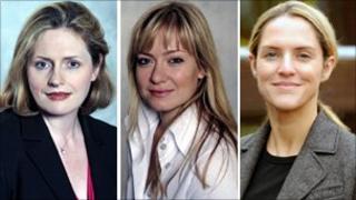 Mary Macleod, Nicola Blackwood and Louise Bagshawe