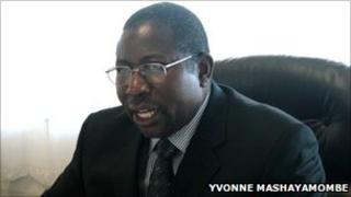 File picture of Elton Mangoma, Zimbabwean Energy Minister