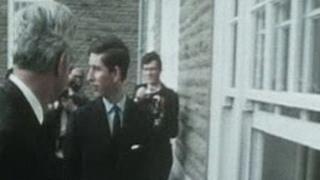 Prince Charles at Pantycelyn