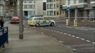 The fatal shooting took place on the promenade in Portstewart