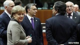 European leaders gather in Brussels