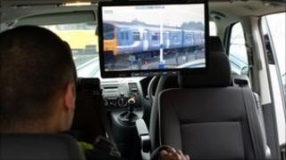 Northern Rail mobile CCTV