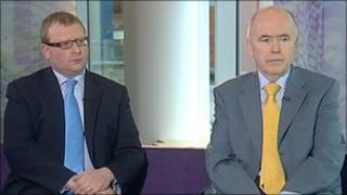 Marcus Jones and Jack Dromey on the BBC's Politics Show in the West Midlands