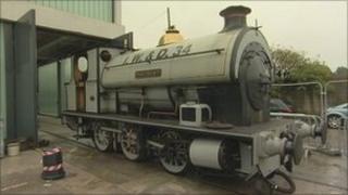 The Portbury Locomotive