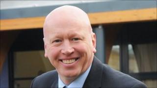 SMHP's chief executive Aidan Thomas