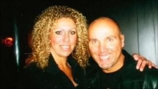 Thomas Martin Ithell with his partner Sarah Potbury