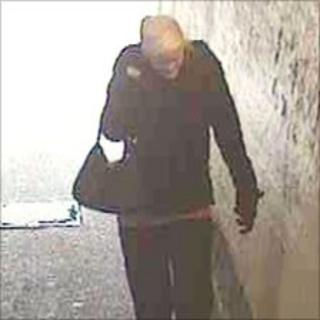 CCTV image of a potential witness