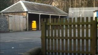 Burgh Primary School in Galashiels