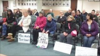 Sit-in protest at West Berkshire Council