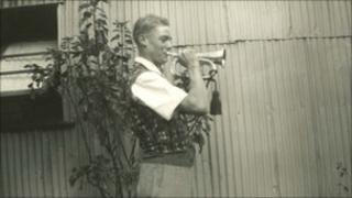 Ken Pound in Falmouth - Pic: J.Cloke