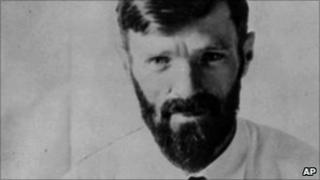 An undated photo of English author DH. Lawrence, best known for his novels Sons and Lovers, The Rainbow, Women in Love and Lady Chatterley's Lover