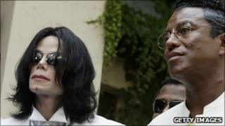 Michael and Jermaine Jackson