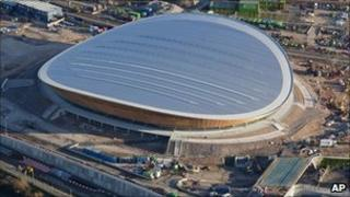 Velodrome at the London 2012 Olympic Park