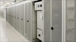 HP cloud computing centre in Wynyard, England