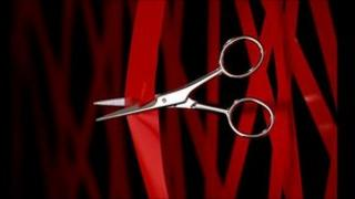 Scissors cutting red tape (Pic: Eyewire)