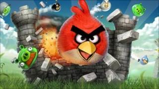 Angry Birds cartoon
