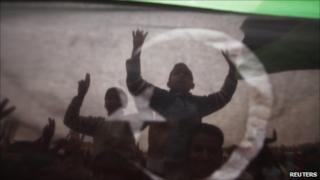 Protesters in Tobruk, 18 March