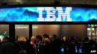 IBM stand at Ceebit