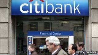 Citibank in New York