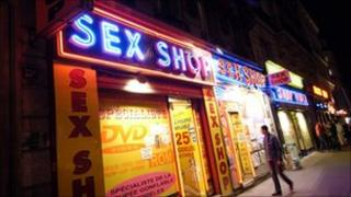 Paris sex shop