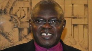 The Archbishop of York, the Most Reverend John Sentamu