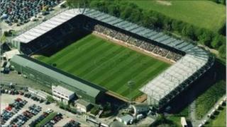 Plymouth Argyle's Home Park stadium